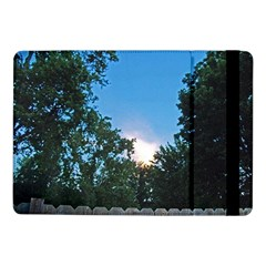 Coming Sunset Accented Edges Samsung Galaxy Tab Pro 10 1  Flip Case by Majesticmountain