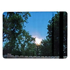 Coming Sunset Accented Edges Samsung Galaxy Tab Pro 12 2  Flip Case