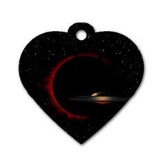 Altair Iv Dog Tag Heart (two Sided) by neetorama