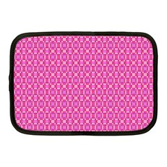 Pink Kaleidoscope Netbook Sleeve (medium)