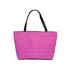 Pink Kaleidoscope Large Shoulder Bag