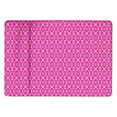 Pink Kaleidoscope Samsung Galaxy Tab 10 1  P7500 Flip Case by Khoncepts
