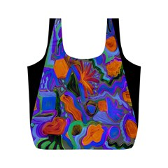 Blackarmholebag By Jean Petree   Full Print Recycle Bag (m)   Svkjypv58edj   Www Artscow Com Back