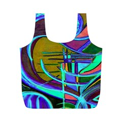 Newcolorflarenbag By Jean Petree   Full Print Recycle Bag (m)   F55ucda9r2sh   Www Artscow Com Back