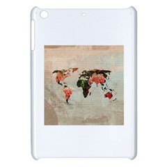 Vintageworldmap1200 Apple Ipad Mini Hardshell Case by mjdesigns