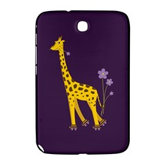 Purple Cute Cartoon Giraffe Samsung Galaxy Note 8.0 N5100 Hardshell Case