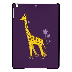 Purple Cute Cartoon Giraffe Apple Ipad Air Hardshell Case