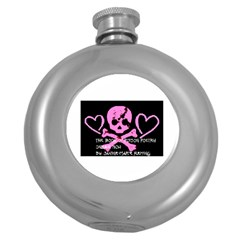 Book1 Hip Flask (round) by ukbanter