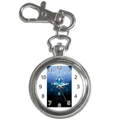Glossy Blue Cross Live Wp 1 2 S 307x512 Key Chain Watch by ukbanter