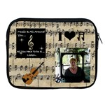 Music Apple iPad Zipper Case - Apple iPad 2/3/4 Zipper Case