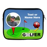 #1 Golfer Apple iPad Zipper Case