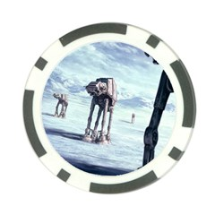 Star Wars Empire Strikes Back Assault On Hoth First Player Token By Ryno   Poker Chip Card Guard   1vp4jboadcbe   Www Artscow Com Front