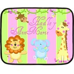 hadley_blanket - Double Sided Fleece Blanket (Mini)
