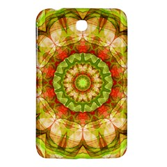 Red Green Apples Mandala Samsung Galaxy Tab 3 (7 ) P3200 Hardshell Case  by Zandiepants