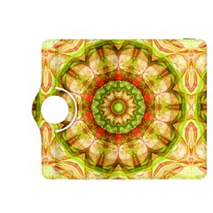 Red Green Apples Mandala Kindle Fire Hdx 8 9  Flip 360 Case by Zandiepants
