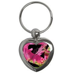 Elegant Writer Key Chain (heart)