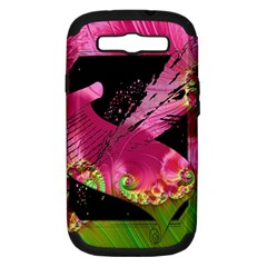 Elegant Writer Samsung Galaxy S Iii Hardshell Case (pc+silicone) by StuffOrSomething