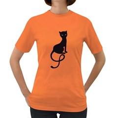 Gracious Evil Black Cat Women s T Shirt (colored)