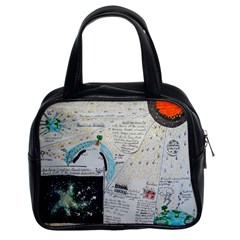 Neutrino Gravity, Classic Handbag (two Sides) by creationtruth