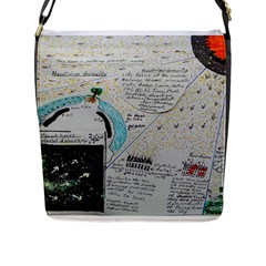 Neutrino Gravity, Flap Closure Messenger Bag (large) by creationtruth