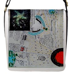 Neutrino Gravity, Flap Closure Messenger Bag (small) by creationtruth