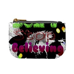 Don t Stop Believing Coin Change Purse