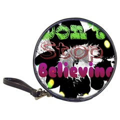 Don t Stop Believing Cd Wallet by SharoleneCollection