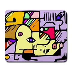 Fighting The Fog Large Mouse Pad (rectangle) by FunWithFibro