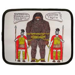 Big Foot & Romans Netbook Sleeve (xl) by creationtruth