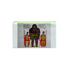Big Foot & Romans Cosmetic Bag (small) by creationtruth