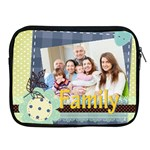 family - Apple iPad 2/3/4 Zipper Case