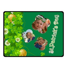 St Patrick s Day By Divad Brown   Double Sided Fleece Blanket (small)   6j8hlvo3wyk4   Www Artscow Com 45 x34 Blanket Front