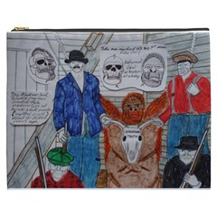 Murdered Big Foot Human,1910, Cosmetic Bag (XXXL) by creationtruth