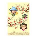 flower - Shower Curtain 48  x 72  (Small)