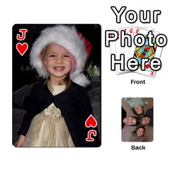 Jack 2014 Cards By Diane   Playing Cards 54 Designs   Pmj73fmc3u3o   Www Artscow Com Front - HeartJ