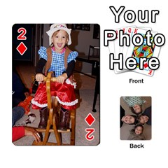 2014 Cards By Diane   Playing Cards 54 Designs   Pmj73fmc3u3o   Www Artscow Com Front - Diamond2