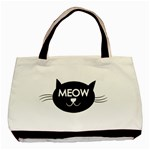 Meow cat - Basic Tote Bag