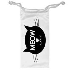 Meow Cat By Divad Brown   Jewelry Bag   Wpd5hcm3e9qs   Www Artscow Com Front
