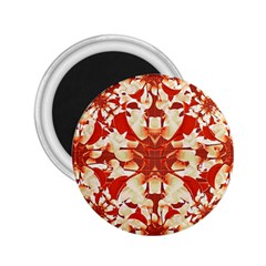 Digital Decorative Ornament Artwork 2 25  Button Magnet by dflcprints