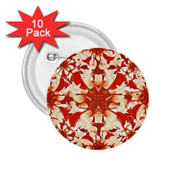 Digital Decorative Ornament Artwork 2 25  Button (10 Pack) by dflcprints