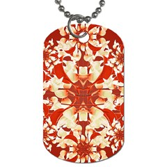 Digital Decorative Ornament Artwork Dog Tag (one Sided) by dflcprints