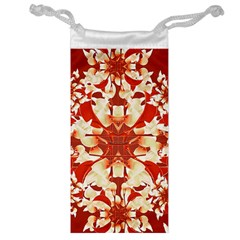 Digital Decorative Ornament Artwork Jewelry Bag by dflcprints