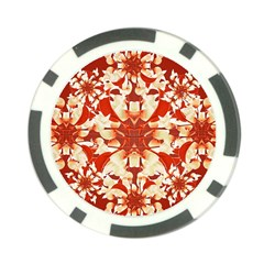 Digital Decorative Ornament Artwork Poker Chip (10 Pack) by dflcprints