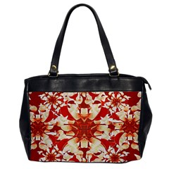 Digital Decorative Ornament Artwork Oversize Office Handbag (one Side) by dflcprints