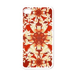 Digital Decorative Ornament Artwork Apple Iphone 4 Case (white) by dflcprints