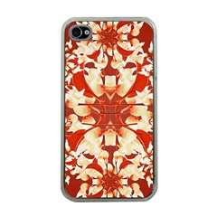 Digital Decorative Ornament Artwork Apple Iphone 4 Case (clear) by dflcprints