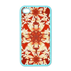 Digital Decorative Ornament Artwork Apple Iphone 4 Case (color) by dflcprints