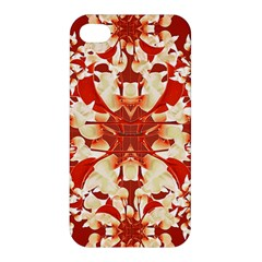 Digital Decorative Ornament Artwork Apple Iphone 4/4s Premium Hardshell Case by dflcprints