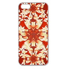 Digital Decorative Ornament Artwork Apple Seamless Iphone 5 Case (clear) by dflcprints
