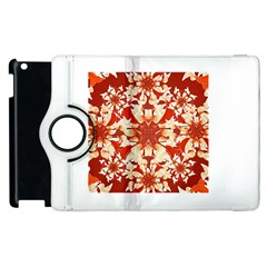 Digital Decorative Ornament Artwork Apple Ipad 2 Flip 360 Case by dflcprints
